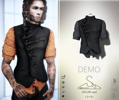 [sYs] OSCAR vest (Male body mesh) - DEMO