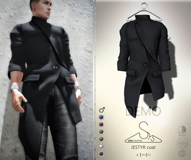 [sYs] JESTYR jacket M (body mesh) - DEMO
