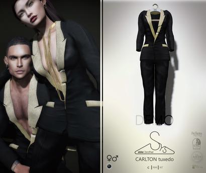 [sYs] CARLTON tuxedo Unisex (fitted & body mesh) - DEMO