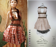 [sYs] WINONA dress (fitted & body mesh) - DEMO