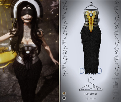 [sYs] ISIS dress (fitted & body mesh) - DEMO