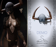 [sYs] ATHENAIS helmet (unrigged mesh) - with HUD DEMO