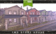 DERELICT - Two Story Town House - CLEAN