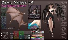 Sensations Devil Wings 4