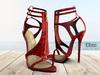 [LC] Eliza Snake Skin Heels
