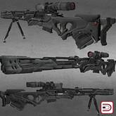 [Danielito] Sci~Fi Sniper Rifle