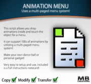 Animation Menu Script - Supports 100s of Animations!