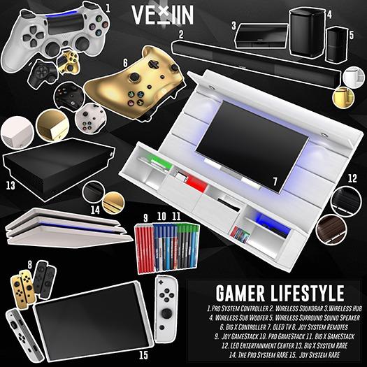 Gamer Lifestyle Gacha!