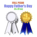 [ FULL PERM ] Happy Father's day / #1 DAD Ribbon