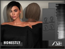 Ade - Honestly Hairstyle (Greyscale)