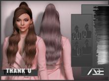 Ade - Thank U Hairstyle (Greyscale)