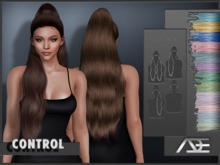 Ade - Control Hairstyle (Pastels)