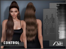 Ade - Control Hairstyle (Gryescale)