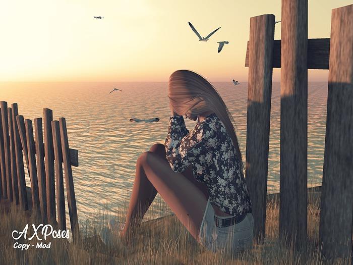Horizon girl  [AX Poses]