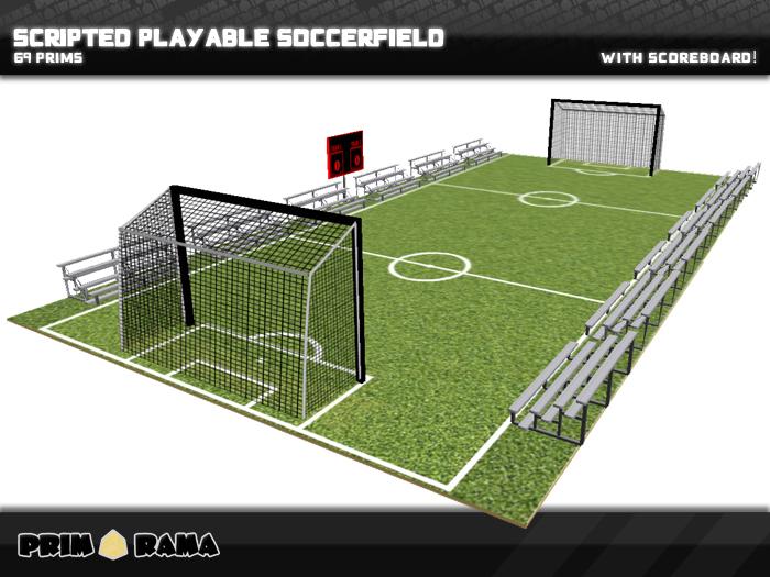 Playable Soccer Field ™