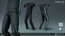 *NEW* SW-9 Suit for Men (100% MESH FITTED) [Neurolab Inc.]