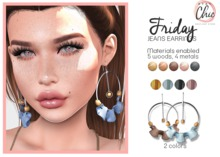 Stay Chic - Friday earrings pack 2