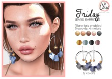 Stay Chic - Friday earrings pack 3