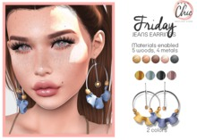 Stay Chic - Friday earrings pack 4
