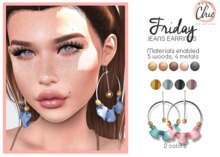 Stay Chic - Friday earrings pack 5