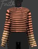 \\FAITH// Oversized Sweater_MIXPEACH