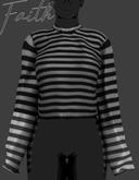 \\FAITH// Oversized Sweater_GREY