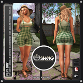 [RnR] Swag Play Day Outfit (Green) Includes: Freya, Venus, Physique, Hourglass & Maitreya!