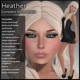 DD Complete Mesh Avatar - Heather V1.0