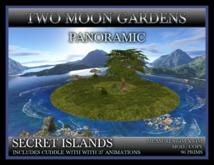 SECRET ISLANDS ~ Panoramic Skybox Garden 360 degrees view