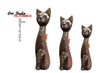 Art Studio.FULL PERM - Wooden Cat Statue