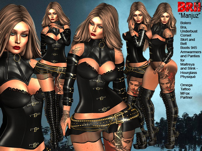 **MANJUZ DARKNESS STYLE COMPLET OUTFIT **