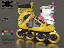 Max :: Unisex RollerBlade :: 10 Colors :: {kokoia}