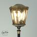 Victorian street lamp   top