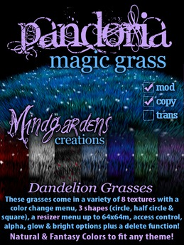 MG - Pandoria Magic Grass - Dandelions