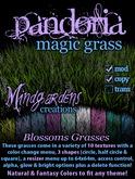 MG - Pandoria Magic Grass - Blossoms