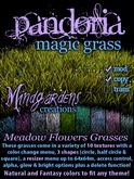 MG - Pandoria Magic Grass - Meadow Flowers