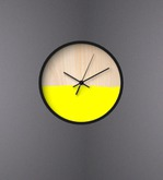 SBY - Yellow - Dipped Clock