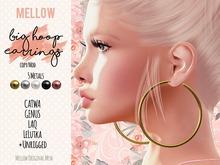 Big Hoop Earrings ♥ GENUS CATWA LAQ LeLutka [BENTO] rigged ♥ Big Hoops