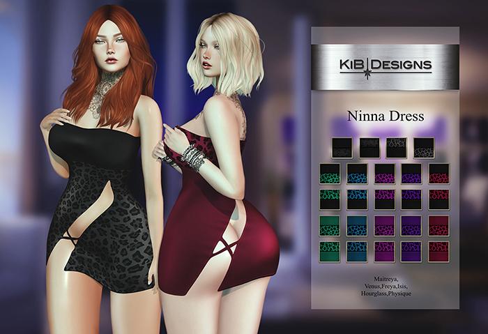 "KiB Designs - Ninna Dress DEMO Unpack ""Wear"""
