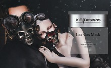 KiB Designs - Lex Gas Mask Unisex