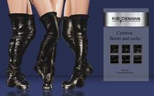 "KiB Designs - Cyranoa Boots and socks ""Wear"""