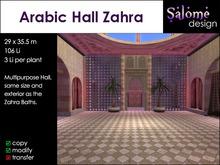Arabic Hall Zahra
