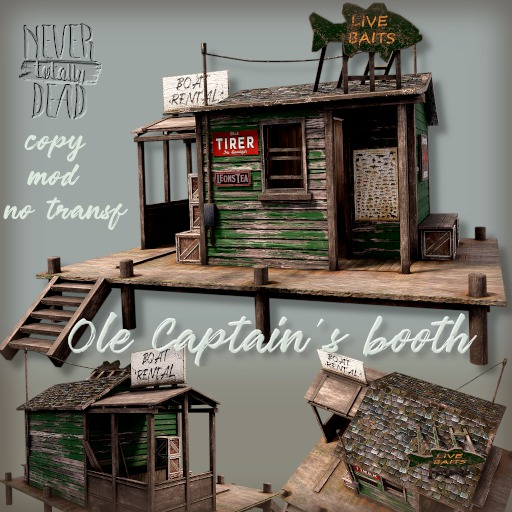 Ole Captain's booth