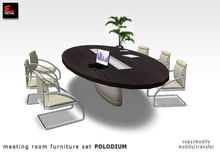 Modern Office Furniture Meeting Table Set_ POLODIUM Copy/Modify & Modify/Transfer