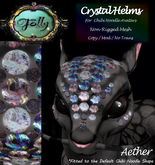Folly - Crystal Helm for Noodles - Aether