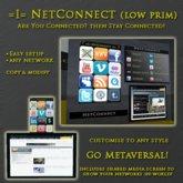 =I= NetConnect Panel (Low Prim)