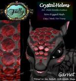 Folly - Crystal Helm for Noodles - Garnet
