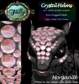 Folly - Crystal Helm for Noodles - Morganite