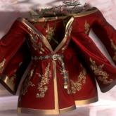 Eliavah ~ Rafflesia Dress [RED GOLD] (Maitreya, Slink Hourglass, Belleza Isis & Freya)