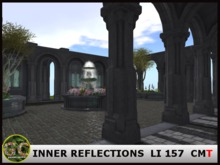 INNER REFLECTIONS - CLOISTERED COURTYARD